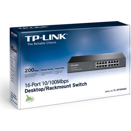 SWITCH TP-LINK TL-SF1016DS 16-Port
