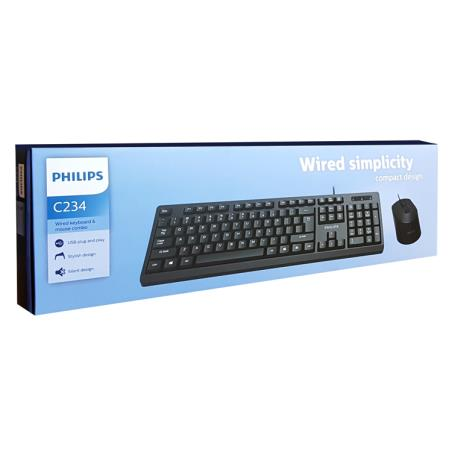 KEYBOARD-MOUSE PHILIPS SPT6234